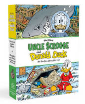 Walt Disney Uncle Scrooge and Donald Duck the Don Rosa Library Vols. 3 & 4 Gift Box Set