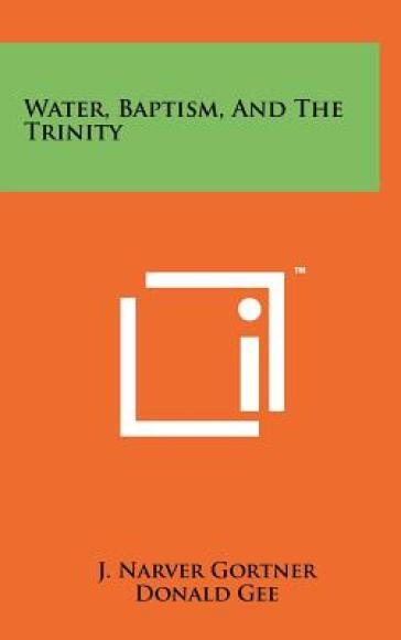 Water, Baptism, and the Trinity