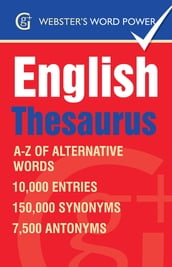 Webster s Word Power English Thesaurus