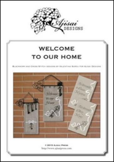 Welcome to our home. Cross stitch and blackwork designs. Ediz. italiana, francese e inglese - Valentina Sardu | Rochesterscifianimecon.com