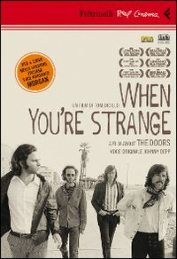 When you're strange. A film about The Doors. DVD. Con libro - Tom DiCillo   Thecosgala.com