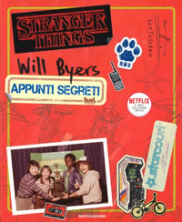 Will Byers. Appunti segreti. Stranger Things - Matthew J. Gilbert | Thecosgala.com