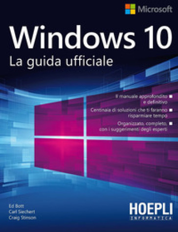 Windows 10. La guida ufficiale - Ed Bott pdf epub