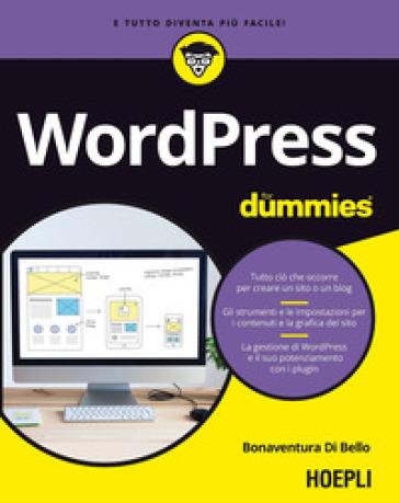Wordpress for dummies - Bonaventura Di Bello | Thecosgala.com