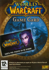 World Of Warcraft Carta Prepagata