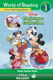 World of Reading: Disney Christmas Collection 3-in-1 Listen-Along Reader