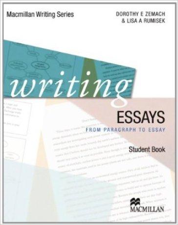 Writing essays. Per le Scuole superiori. Con DVD. Con espansione online - Dorothy Zemach  