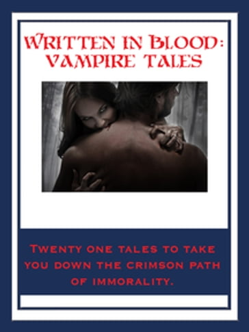 Written In Blood: Vampire Tales