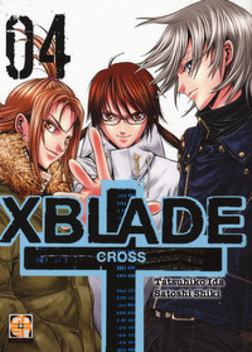 X-Blade cross. 4. - Tatsuhiko Ida | Rochesterscifianimecon.com