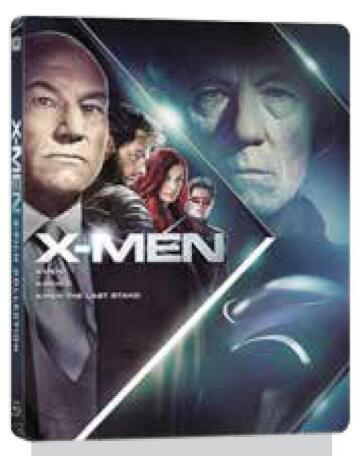 X-Men 3 film collection (3 Blu-Ray)(steelbook)