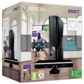 XBOX 360 4GB+Kinect+Kinect Nike Training