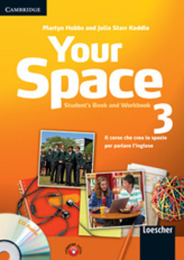 Your space. Student's book-Workbook. Per la Scuola media. Con CD Audio. Con espansione online. 3.