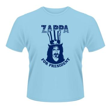 Zappa for president (blue)