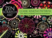 Zen Scratch Art: Classic Kimono Patterns