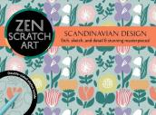 Zen Scratch Art: Scandinavian Design