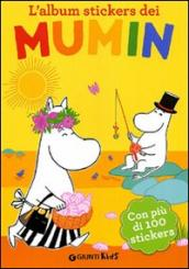 L album stickers dei Mumin. Con stickers