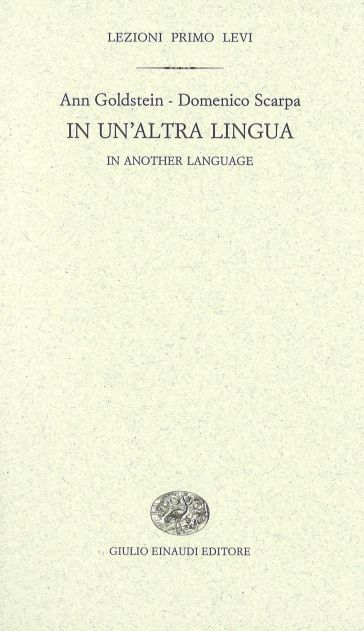 In un'altra lingua-In another language