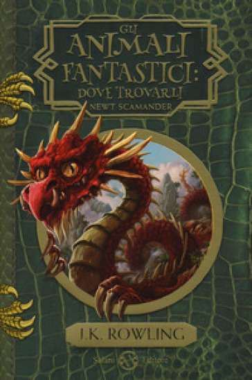 Gli animali fantastici: dove trovarli. Newt Scamander - J. K. Rowling | Thecosgala.com