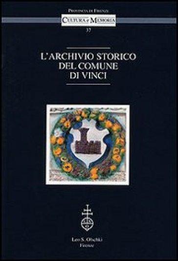 L'archivio storico del comune di Vinci - I. Morelli | Kritjur.org