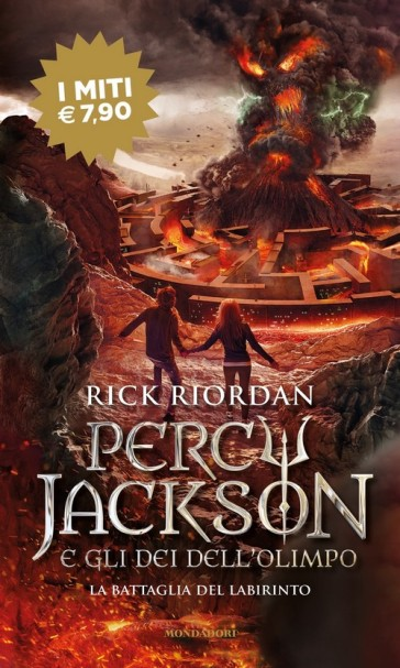 La battaglia del labirinto. Percy Jackson e gli dei dell'Olimpo. 4. - Rick Riordan | Thecosgala.com