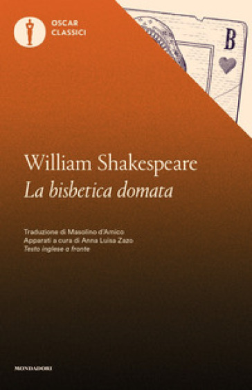 La bisbetica domata. Testo inglese a fronte - William Shakespeare | Thecosgala.com
