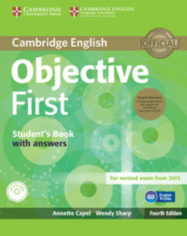 cambridge objective first SB + cd