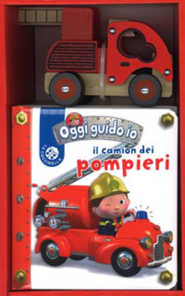 Il camion dei pompieri. Oggi guido io. Ediz. a colori. Con gadget - Nathalie Belineau | Thecosgala.com