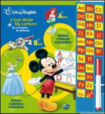 I can write my letters!-So scrivere le lettere! Ediz. bilingue