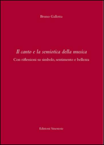 Il canto e la semiotica della musica . Con riflessioni su simbolo, sentimento e bellezza - Bruno Gallotta | Rochesterscifianimecon.com