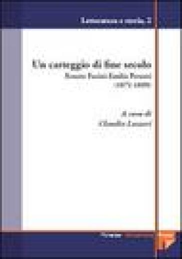 Un carteggio di fine secolo. Renato Fucini-Emilia Peruzzi (1871-1899) - C. Lazzeri | Kritjur.org