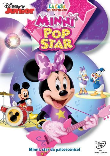 La Casa Di Topolino Minni Pop Star Dvd Mondadori Store