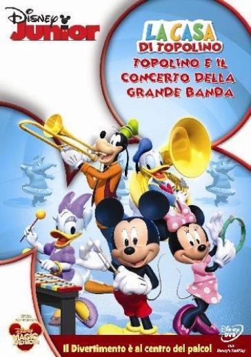 La casa di topolino topolino e il concerto della grande for Costo della grande casa