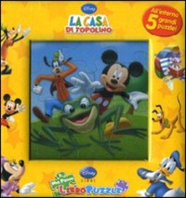 La casa di topolino libro puzzle libro mondadori store for La fattoria di topolino