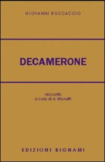 Le cento novelle del Decamerone - Giovanni Boccaccio |