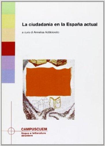La ciudadinia en la Espana actual