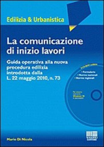 La comunicazione di inizio lavori con cd rom mario di for Comunicazione inizio lavori ristrutturazione bagno