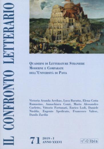 Il confronto letterario. Quaderni di letterature straniere moderne e comparate dell'Università di Pavia. Supplemento. 71. - G. Mazzocchi | Ericsfund.org