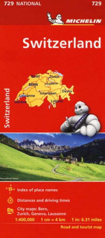SUISSE-SWITZERLAND 1:400.000