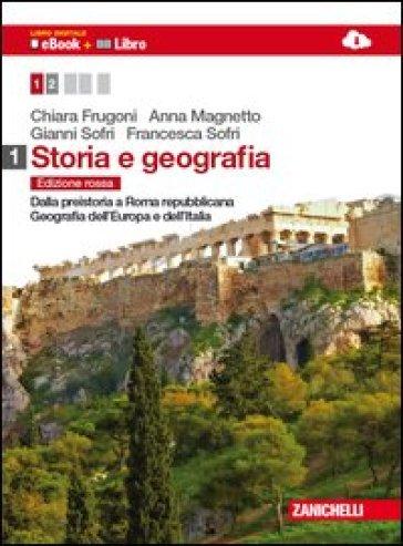 STORIA E GEOGRAFIA ED. ROSSA 1