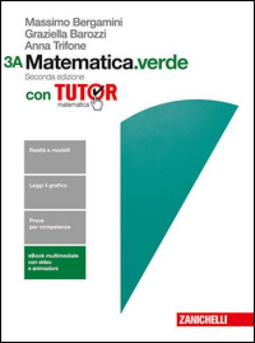 MATEMATICA VERDE 3A+3B ED. MISTA