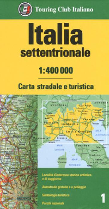 ITALIA SETTENTRIONALE 1:400.000. CARTA S