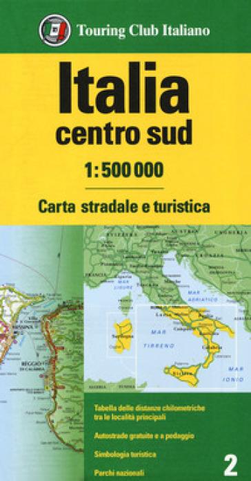 ITALIA CENTRO SUD 1:500.000