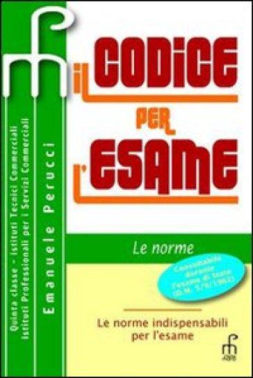 CODICE PER L'ESAME V.E.