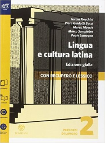 LINGUA E CULTURA LATINA ED. GIALLA 2