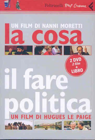 La cosa-Il fare politica-C'era una volta il PCI (1982-2004). DVD. Con libro - Nanni Moretti pdf epub
