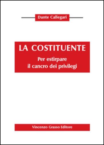La costituente. Pr estirpare il cancro dei privilegi - Dante Callegari | Rochesterscifianimecon.com