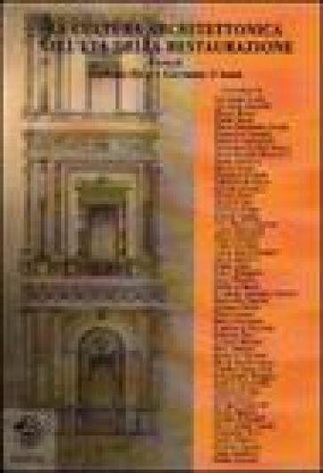 La cultura architettonica nell'età della Restaurazione - G. Ricci | Rochesterscifianimecon.com