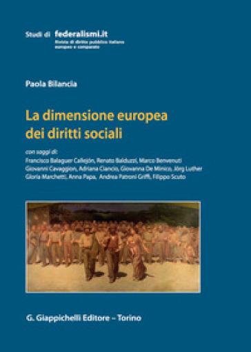 La dimensione europea dei diritti sociali - P. Bilancia   Rochesterscifianimecon.com
