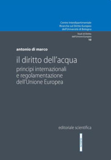 Il diritto dell'acqua. Principi internazionali e regolamentazione dell'Unione Europea