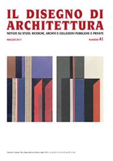 Il disegno di architettura. Notizie su studi, ricerche, archivi e collezioni pubbliche e private. 41. - L. Patetta |